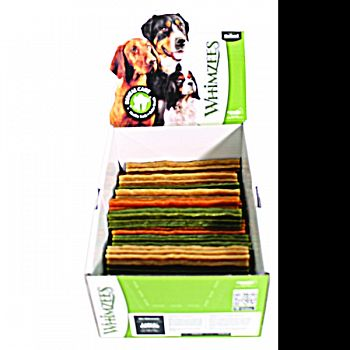 Whimzees Stick Display ASSORTED LARGE/50 PIECE