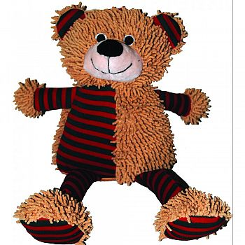Holiday Patches Plush Dog Toy BEAR 15 INCH
