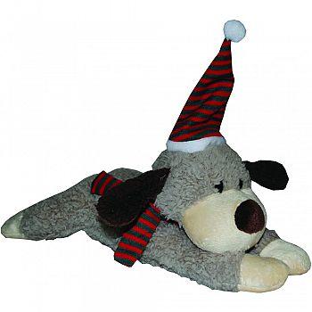 Holiday Cozy Plush Dog Toy DOG 10 INCH
