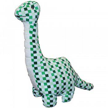 Mighty Mint Dino Plush Dog Toy