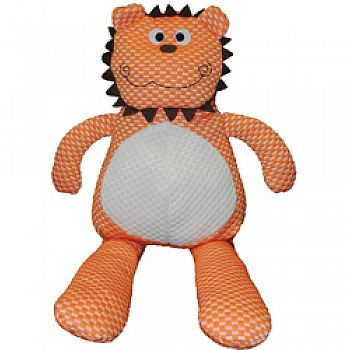 Tuff Puff Lion Plush Dog Toy