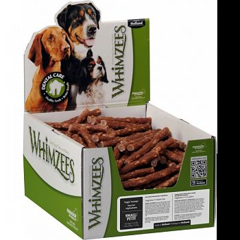 Whimzees Veggie Sausage Dental Treat BROWN SMALL/150 PIECE