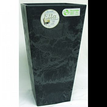 Ella Tall Planter BLACK 19.5 INCH
