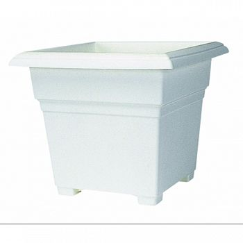 Countryside Tub Planter WHITE 14 INCH