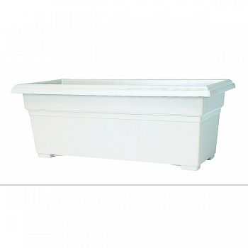 Countryside Patio Planter WHITE 27 INCH