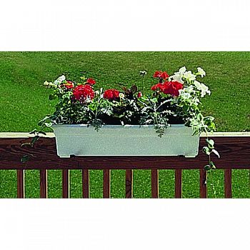 Countryside Flowerbox WHITE 18 INCH
