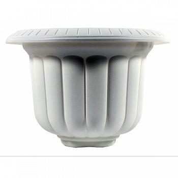 Classic Urn Planter WHITE 14 INCH