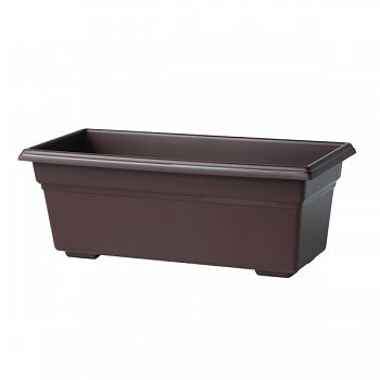 Countryside Flowerbox BROWN 18 INCH