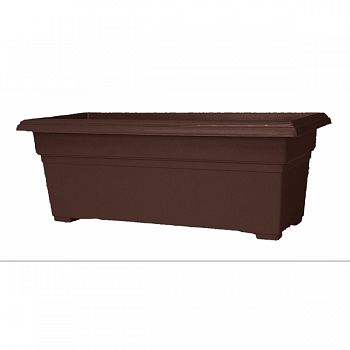 Countryside Patio Planter BROWN 27 INCH