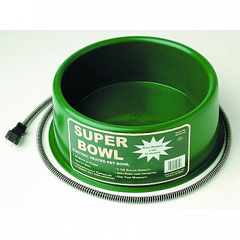 Heated Round Pet Bowl