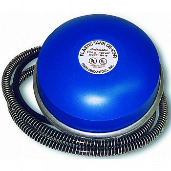 Floating Plastic Tank De-icer  1250 WATT