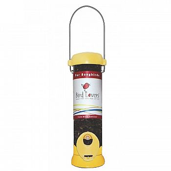 Yellow Sunflower Tube Feeder by Droll Yankees