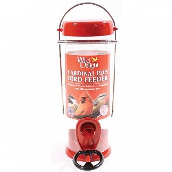 Wild Delight Cardinal Plus Bird Feeder
