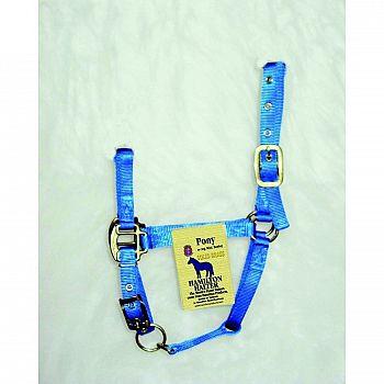 Adjustable Pony Halter w/Chin Strap