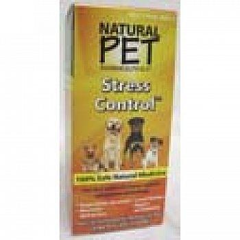 Natural Pet Stress Control - Calming Supplement - 4 oz.