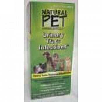 Natural Pet Cat Urinary Tract Infections - Cat Supplement - 4 oz.