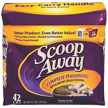 Scoop Away Complete Performance Cat Litter - 42 lbs.