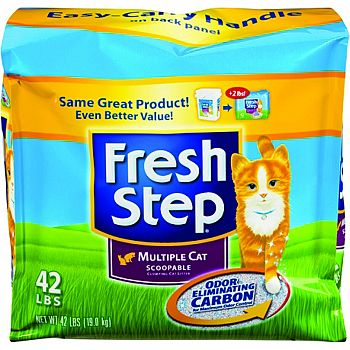 Fresh Step Multi-cat Litter Scented