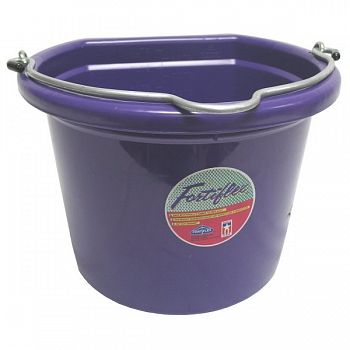 Flatback Bucket 8 qt. / Purple
