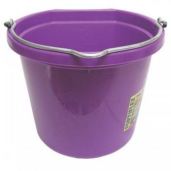 Flatback Bucket - 20 qt. Violet