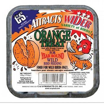 C S Orange Suet Cakes