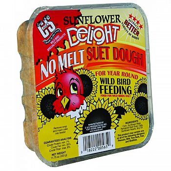 Sunflower Delight Suet Dough