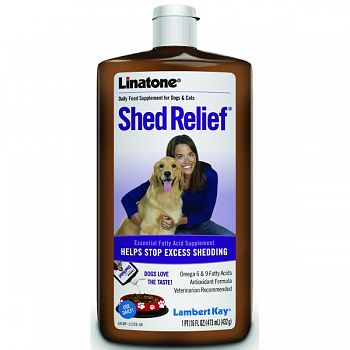 Lambert Kay Linatone Shed Relief Dog  16 OUNCE