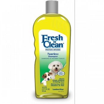Fresh N Clean Tearless Puppy Shampoo 18 oz