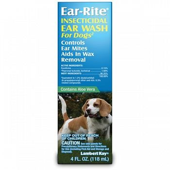 Ear Rite Wash for Dogs - 4 oz.