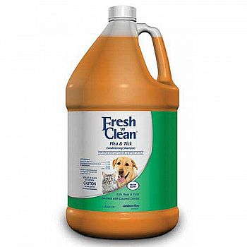 Fresh N Clean Flea & Tick Conditioning Shampoo - 1 gal.