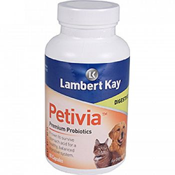 Petivia Digestive Probiotics For Dogs & Cats