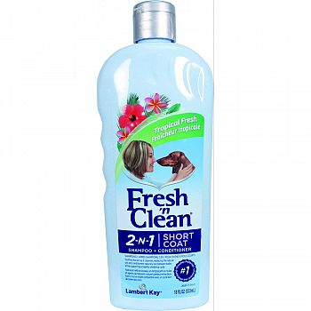 Fresh N Clean 2-n-1 Short Coat Shampoo&conditioner  18 OUNCE