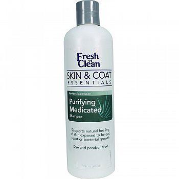 Fresh N Clean Skin & Coat Medicated Shampoo  12 OUNCE