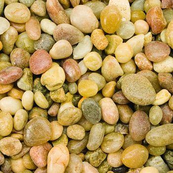 Gravel Shallow Creek Pebble TAN 25 POUND (Case of 2)
