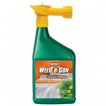 Weed-B-Gone Max Plus Crabgrass RTS 32 oz. ea. (Case of 12)
