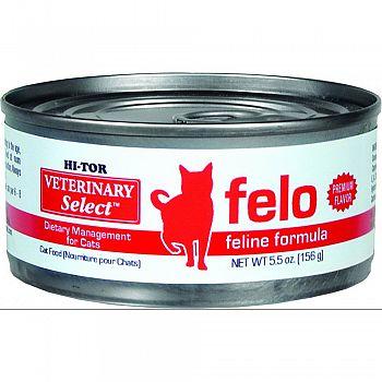 Hi-Tor Felo Diet For Cats 5.5 oz each (Case of 24)