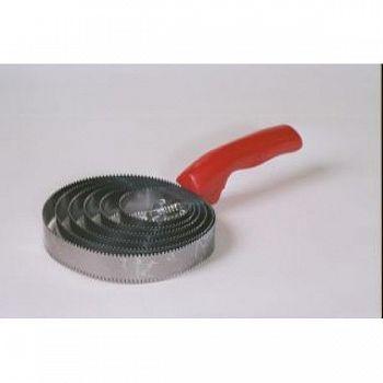 Jumbo Steel Spiral Equine Curry Comb