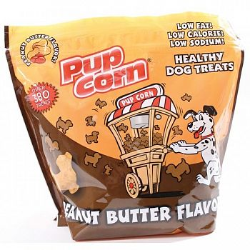Pupcorn Healthy Dog Treats - Peanut Butter / 16 oz.