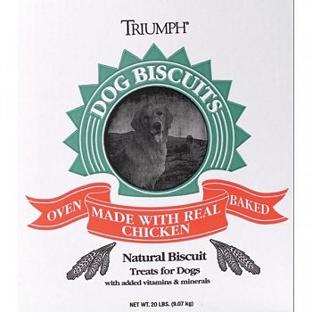 Triumph Biscuits - Assorted / Large / 20 lbs.