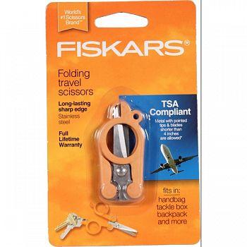 Fiskars Folding Scissors ORANGE 4 INCH (Case of 3)