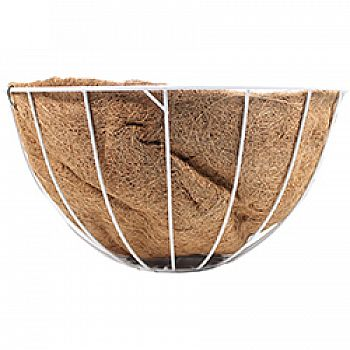 Wire Grow Basket With Coco Liner