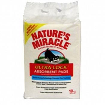 Natures Miracle Ultra-Lock Absorbent Training Pads