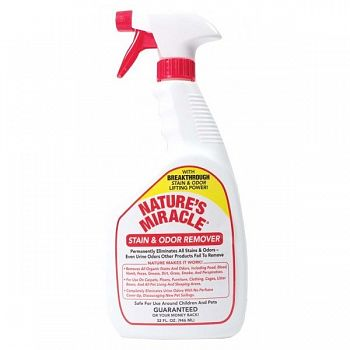 Natures Miracle Stain and Odor Remover Spray - 32 oz.