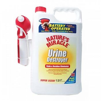 Natures Miracle Urine Destroyer Power Spray - 1.5 gallon