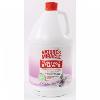 Natures Miracle Stain & Odor Remover 1 gal. / Tropical Bloom