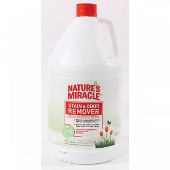 Natures Miracle Stain & Odor Remover - 1 gallon / Flowering Meadow