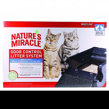 Natures Miracle Multi-cat Self-cleaning Litter Box