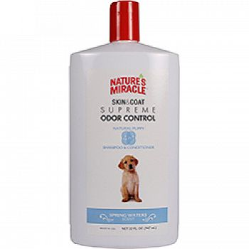 Natures Miracle 4 In 1 Puppy Shampoo & Conditioner