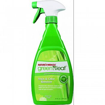 Green Leaf Stain And Odor Remover