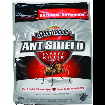Spectracide Ant Shield Home Barrier Granules  3 POUND (Case of 4)